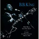 b. b. king - how blue can you get? classic live performances 1964 - 1994 CD 2-discs 1996 MCA mint