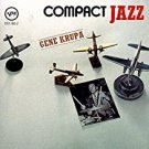 gene krupa - compact jazz CD 1987 verve polygram 13 tracks used mint
