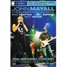 john mayall & bluesbreakers and friends 70th birthday concert DVD + CD 2003 eagle rock used mint
