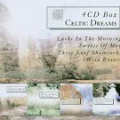 celtic dreams - larks in the morning, sweets of the may, three leaf shamrocks, wild rovers 4CDs used