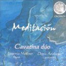 meditacion - cavatina duo eugenia moliner + denis azabagic CD orobroy 20 tracks used mint