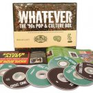 whatever the '90s pop & culture box CD 7-disc set 2005 rhino new factory-sealed