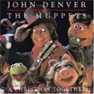 john denver & muppets - a christmas together CD 2001 delta 10 tracks used mint