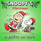 snoopy's christmas - classiks on toys CD 1994 brennan 16 tracks used mint