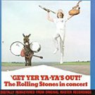 rolling stones in concert - get yer ya-ya's out! CD 1986 abkco 10 tracks used like new