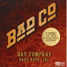 bad co - bad company hard rock live CD + DVD 2009 heartstar image used like new