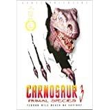 carnosaur 3 primal species - scott valentine DVD 2000 new horizons R 85 minutes used like new
