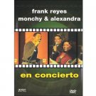 frank reyes and monchy & alexandra - en concierto DVD 2002 sony 9 tracks used like new,