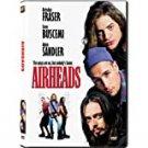 airheads - brendan fraser + steve buscemi + adam sandler DVD 2001 20th century fox used like new