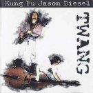 kung fu jason diesel - twang CD 1998 whompbag music 11 tracks used like new