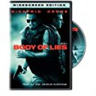 body of lies - dicaprio + crowe DVD widescreen 2009 warner R 128 mins used like new