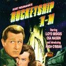 kurt neumann's rocketship x-m 50th anniversary edition DVD B&W 77 mins used like new