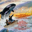 free willy 2: adventure home - original motion picture soundtrack CD 1995 epic used like new