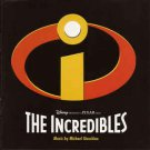 the incredibles - original soundtrack by michael giacchino CD 2004 disney pixar 19 tracks mint