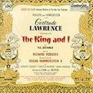 king and i - original broadway cast album - gertrude lawrence + yul brynner CD 1990 MCA mint