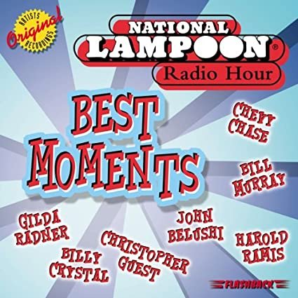 national lampoon radio hour - best moments CD 2000 flashback 14 tracks used mint