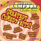 national lampoon radio hour - greatest comedy bits CD 2000 flashback 12 tracks used mint