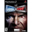 playstation 2 smack down vs raw THQ 2004 Teen used like new