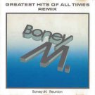 boney m. - greatest hits of all times remix CD 1988 BMG ariola 12 tracks used like new