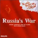 russia's war: blood upon the snow - original soundtrack from TV series CD 1996 philips used