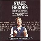 colm wilkinson - stage heroes - LPO CD 1989 RCA BMG Direct 16 tracks used mint