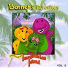 barney's favorites featuring songs from imagination island CD 1994 EMI 26 tracks used mint