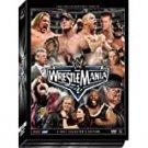 WWE wrestlemania 22 DVD 3-discs 2006 used