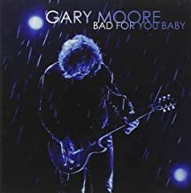 gary moore - bad for you baby CD 2008 eagle rock 11 tracks used like new