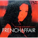 freanch affair - my heart goes boom CD single 3 tracks 1999 BMG RCA ariola used like new