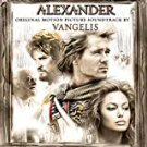 alexander - original motion picture soundtrack by vangelis CD 2004 sony 18 tracks used like new