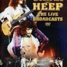 uriah heep the live broadcasts - collector's rarities DVD ragnarock EU 47 mins used like new