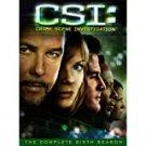 CSI: crime scene investigation complete sixth season DVD 2006 paramount used