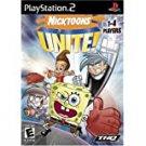 playstation 2: nicktoons unite! THQ viacom 2007 Everyone used