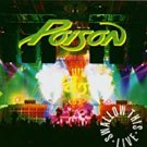 poison - swallow this live CD 2-discs 1991 capitol used like new CDP598046