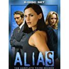 alias - complete third season DVD 6-disc set 2004 touchstone TV14 used like new