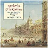 boccherini cello quintets - vanbrugh quartet with richard lester CD 2002 hyperion used