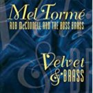 mel torme & rob mcconnell and the boss brass - velvet & brass Hybrid SACD DSD 2003 concord like new