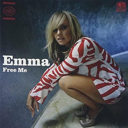 emma bunton - free me CD 2003 19 recordings used like new