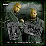 dead prez & outlawz - soldier 2 soldier CD 2006 real talk koch 14 tracks used like new