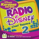 disney karaoke series: radio disney chart toppers 2 CD 2005 used like new