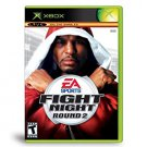 xbox - fight night round 2 2005 EA Teen used like new