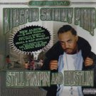 kingpin skinny pimp - still pimpin and hustlin CD 2002 TVT 16 tracks used like new