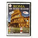 roma: rome - the vatican - the catacombs DVD video city 120 minutes NTSC new