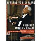 herbert von karajan + wiener philharmoniker - mozart: coronation mass + high mass DVD new