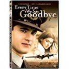 every time we say goodbye - tom hanks + christina marsillach DVD 2006 sony PG-13 new