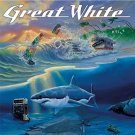 great white - can't get there from here CD 1999 sony portrait 12 tracks used like new