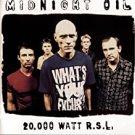 midnight oil - 20,000 watt R.S.L. CD 1997 sony 18 tracks used like new