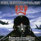 paul raymond project - man on a mission CD 1999 zoom club records UK 12 tracks used like new