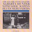 alberta hunter with lovie austin's blues serenaders - chicago the living legends CD 1984 fantasy OBC