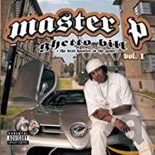 master p - ghetto bill vol. 1 CD 2005 koch new no limit 20 tracks used like new